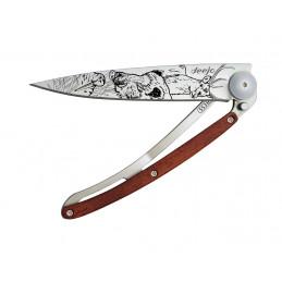 Couteaux Deejo Titane Bois...